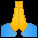Android Oreo; U+1F64F; Emoji