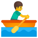 Android Oreo; U+1F6A3; Emoji