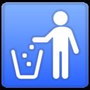 Android Oreo; U+1F6AE; Emoji