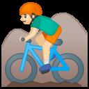 Emoji: 🚵🏻 Android Oreo; U+1F6B5 U+1F3FB