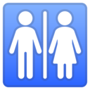 Android Oreo; U+1F6BB; Emoji