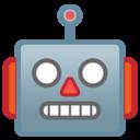 Emoji: 🤖 Android Oreo; U+1F916