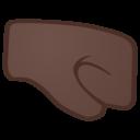 Android Oreo; U+1F91C U+1F3FF; Emoji