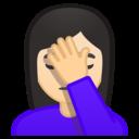 Emoji: 🤦🏻 Android Oreo; U+1F926 U+1F3FB