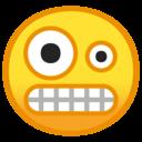 Emoji: 🤪 Android Oreo; U+1F92A