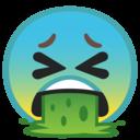 Android Oreo; U+1F92E; Emoji