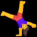 Emoji: 🤸♀️ Android Oreo; U+1F938 U+200D U+2640 U+FE0F