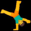 Android Oreo; U+1F938; Emoji