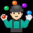 Emoji: 🤹🏻♂️ Android Oreo; U+1F939 U+1F3FB U+200D U+2642 U+FE0F