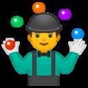 Android Oreo; U+1F939; Emoji