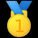 Android Oreo; U+1F947; Goldmedaille Emoji