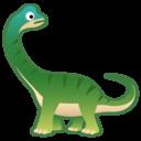 Emoji: 🦕 Android Oreo; U+1F995