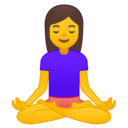 🧘‍♀️ Woman In Lotus Position