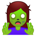 Emoji: 🧟♀️ Android Oreo; U+1F9DF U+200D U+2640 U+FE0F