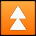 Android Oreo; U+23EB; Emoji