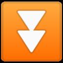 Android Oreo; U+23EC; Emoji