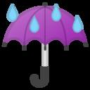 Android Oreo; U+2614; Emoji