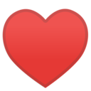 Android Oreo; U+2665 U+FE0F; Emoji