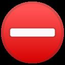 Android Oreo; U+26D4; Emoji