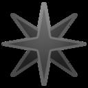 Android Oreo; U+2734 U+FE0F; Emoji