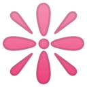 Android Oreo; U+2747 U+FE0F; Emoji