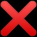Android Oreo; U+274C; Emoji