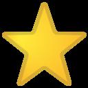 Android Oreo; U+2B50; Emoji