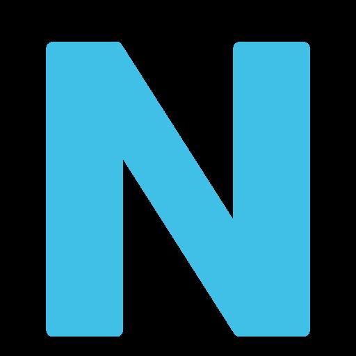 Regional indicator symbol letter n emoji - N letter images ...