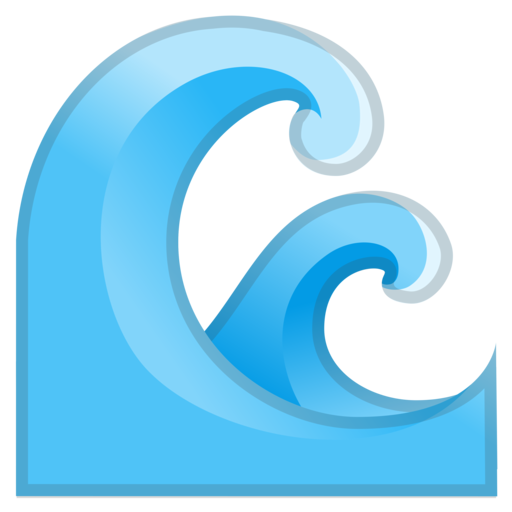 Wave Emoji Water Wave Emoji | www...