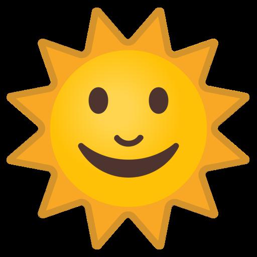 Resultado de imagen de EMOJI SOL