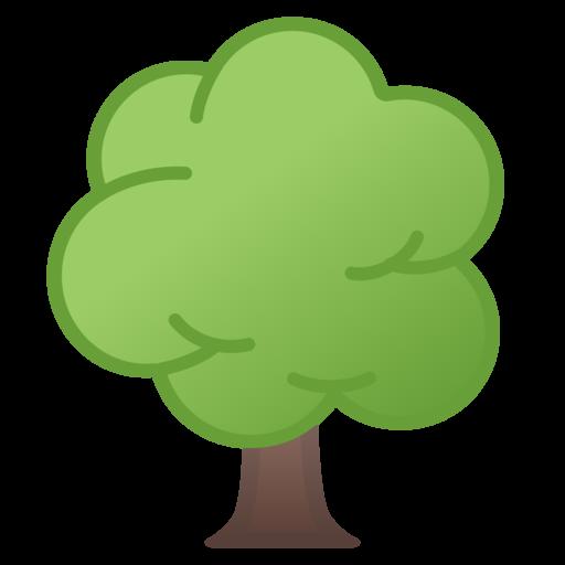 🌳 Deciduous Tree Emoji