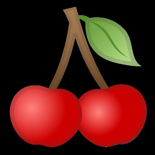 cereja emoji cherry clipart black and white cherry clipart free download