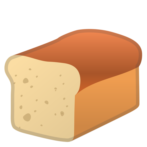 pan de molde emoji loaf of bread clipart free loaf of bread clipart black and white