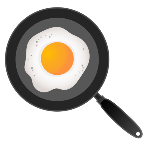 Spiegelei in bratpfanne emoji for Cocinar huevos 7 days to die