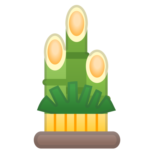 Pine decoration emoji for Decoration emoji