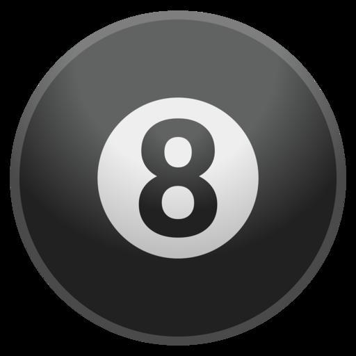 Bola Negra De Billar Emoji
