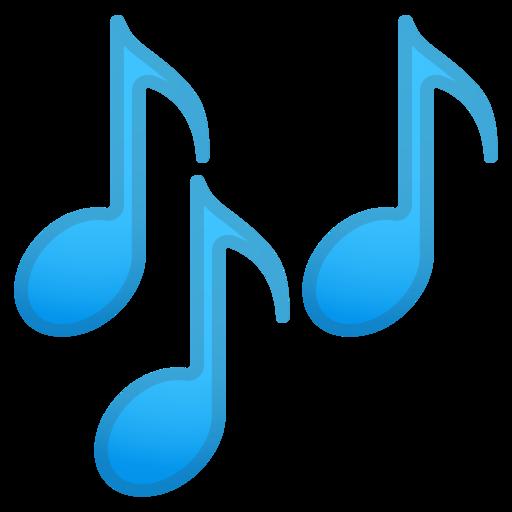 Notas Musicais Emoji