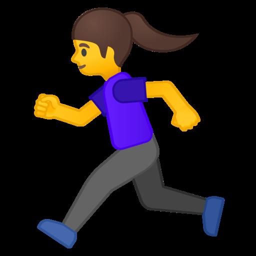 Resultado de imagen de emoticono corriendo