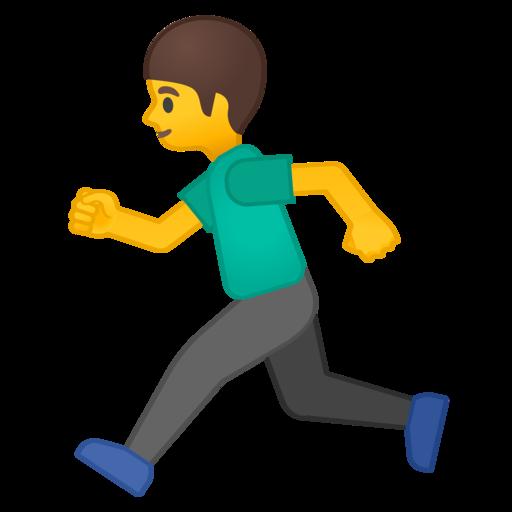 Resultado de imagem para emoji correndo