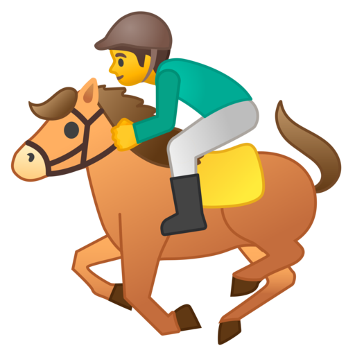 Horse Racing Emoji