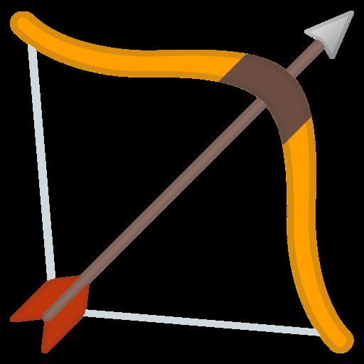🏹 Pfeil und Bogen-Emoji
