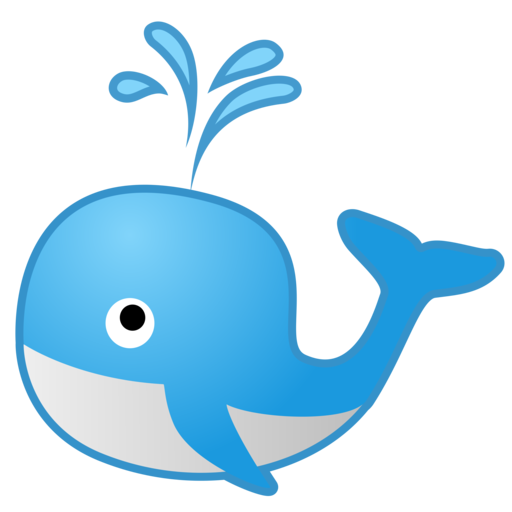 Whale Emoji 🐋 Meaning-Android,iOS,Snapchat | 😊♥Emoji Detail💓😍