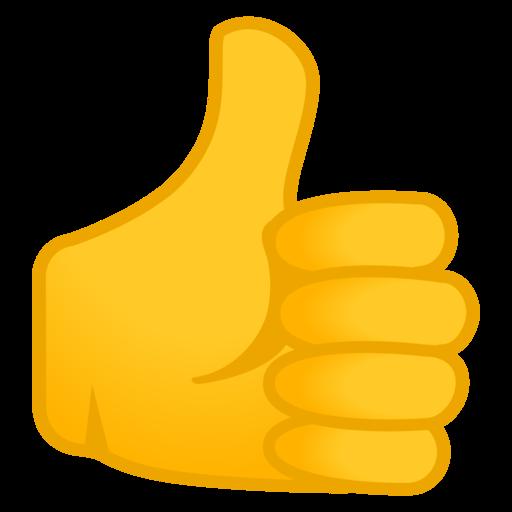 Bildergebnis für daumen hoch emoji tastatur