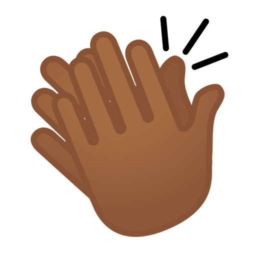 Dark skin clap repost - 4 5
