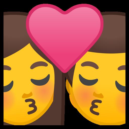 Bisou Femme Et Homme Emoji