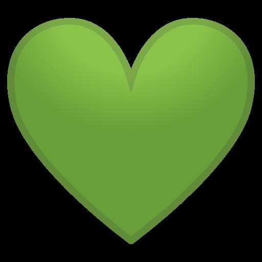 💚 Corazón Verde Emoji