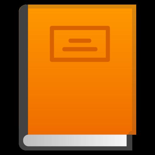 Livro Laranja Emoji