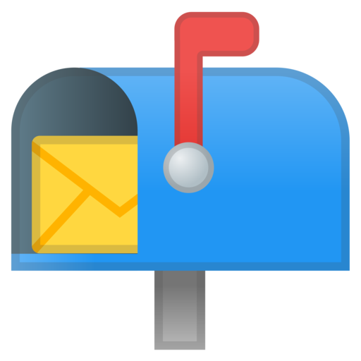 open mailbox. Google (Android 8.0 Oreo) Open Mailbox