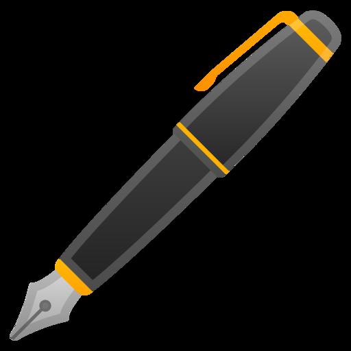 pen emoji emoji world fountain pen clipart black fountain pen clipart free