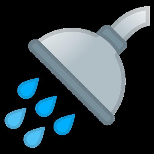 Duschkopf clipart  🚿 Dusche-Emoji
